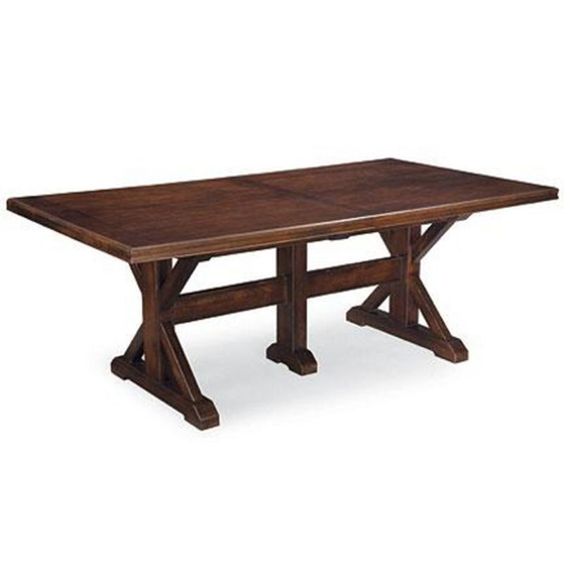 Thomasville Wanderlust Trestle Dining Table Ensemble Sears