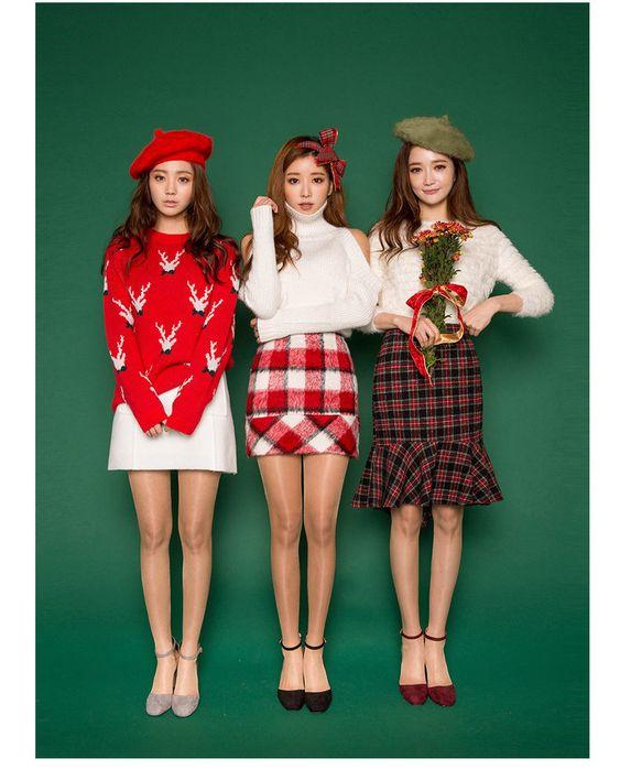 korean christmas fashion weihnachten. Black Bedroom Furniture Sets. Home Design Ideas