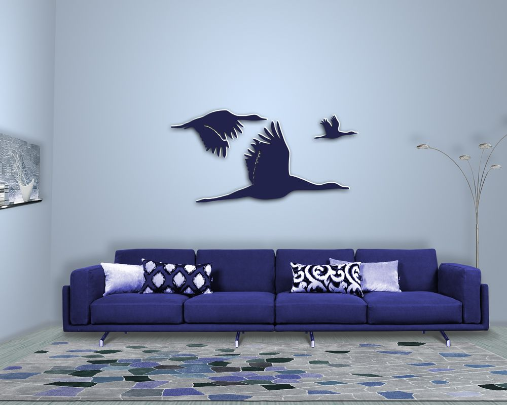 Perfect  Wanddeko Wanddekoration V gel Birds Deco Deko Wandtattoo Sch nerWohnen