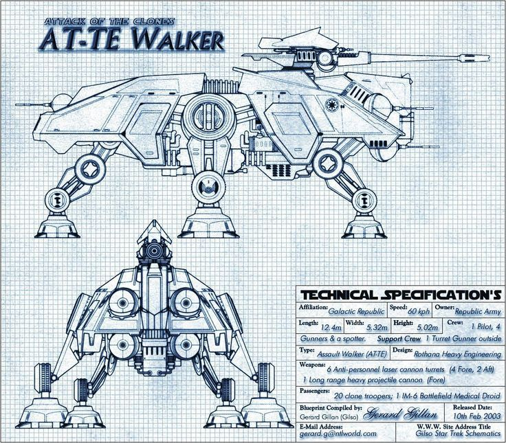Idea: [Military ault Walkers] Example: All-Terrain Tactical ...