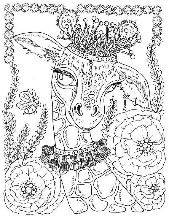 Digital Download Spring Animals To Color Instant Download Etsy Coloring Pages Disney Coloring Pages Animal Coloring Pages