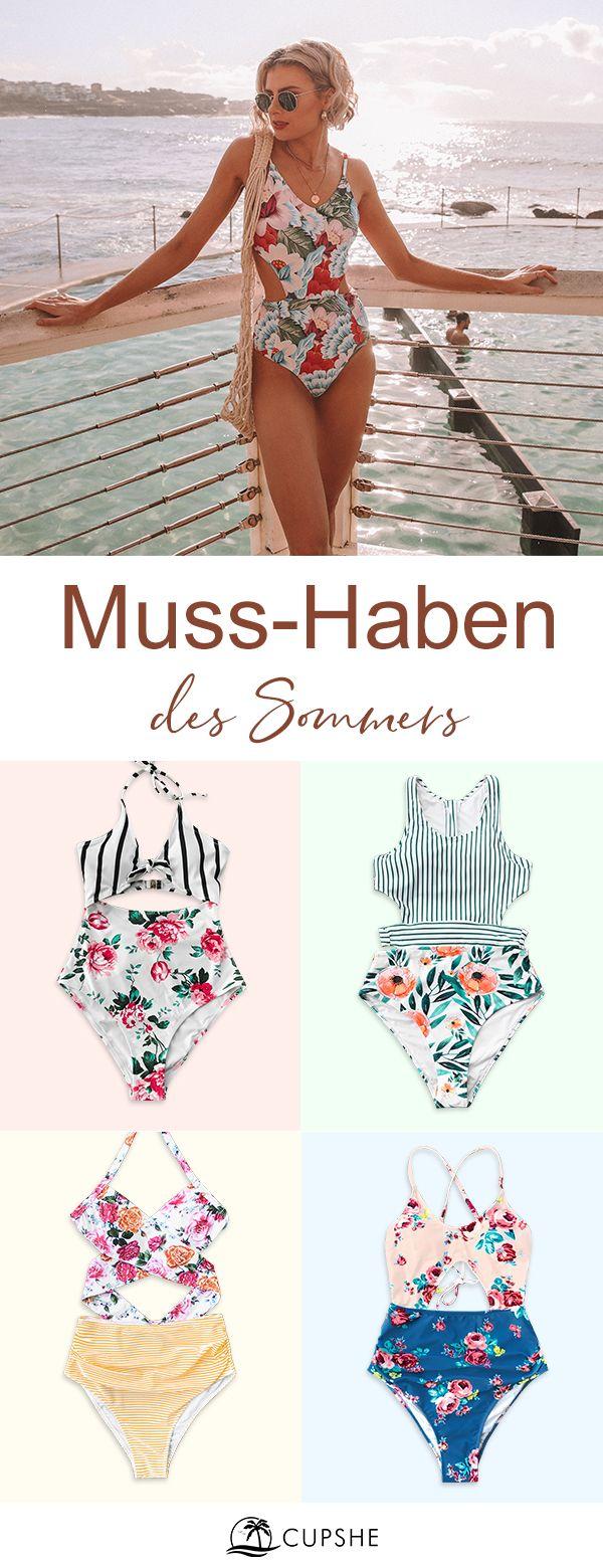 Erneu Deine Schwimmgarderobe mit frischen neuen Picks und KOSTENLOSEM Versand. #summerswimwear