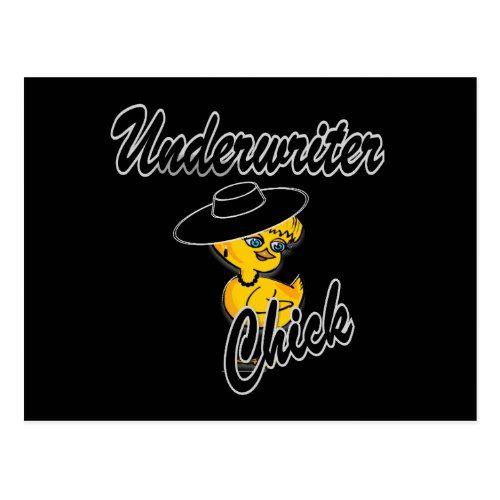 Chick  Postcard