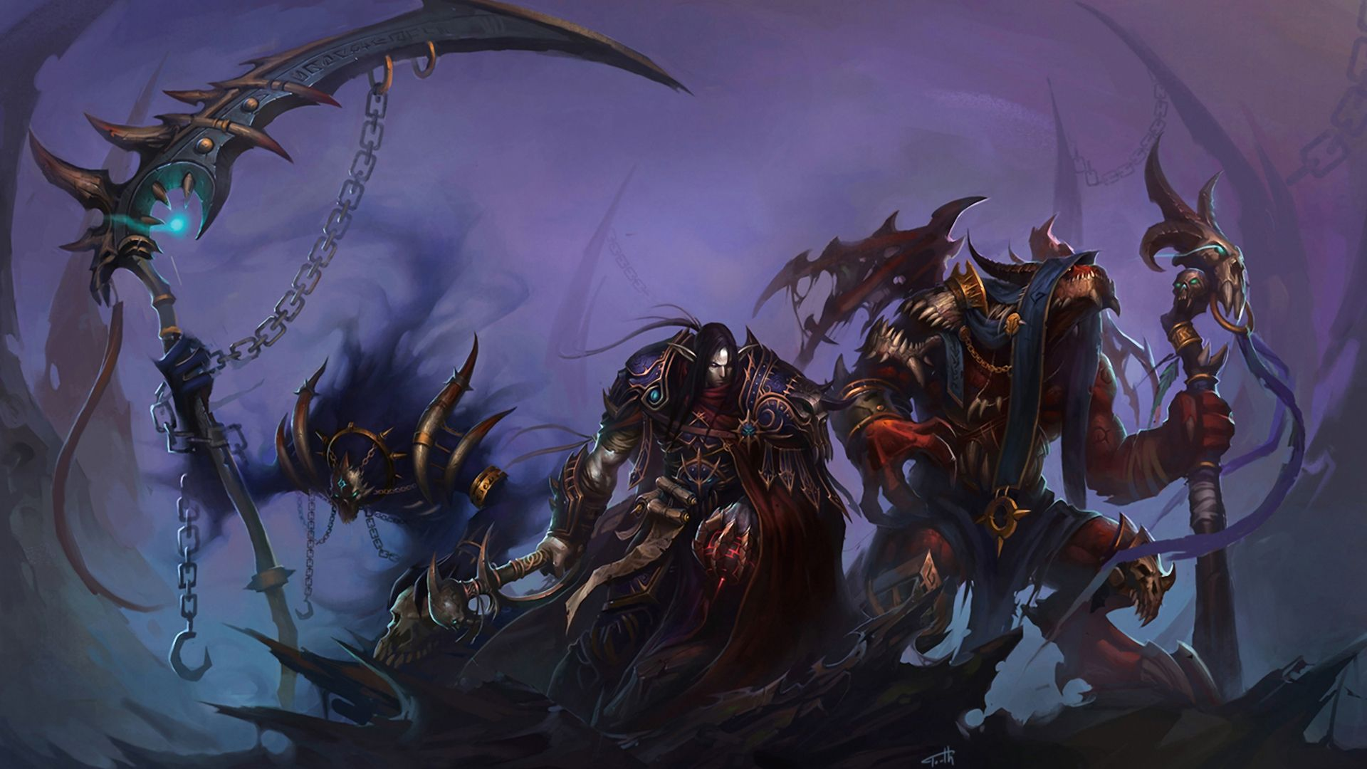 World Of Warcraft Art wallpaper World Of Warcraft