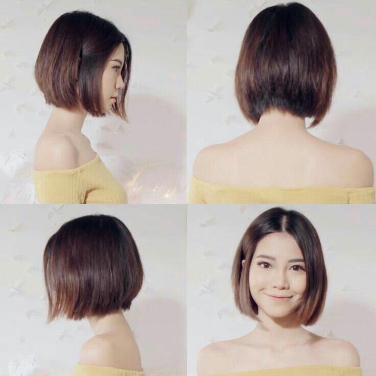 Pin By Anastasia Wibowo On Pelo Castano Asian Short Hair Asian Hair Hair Styles