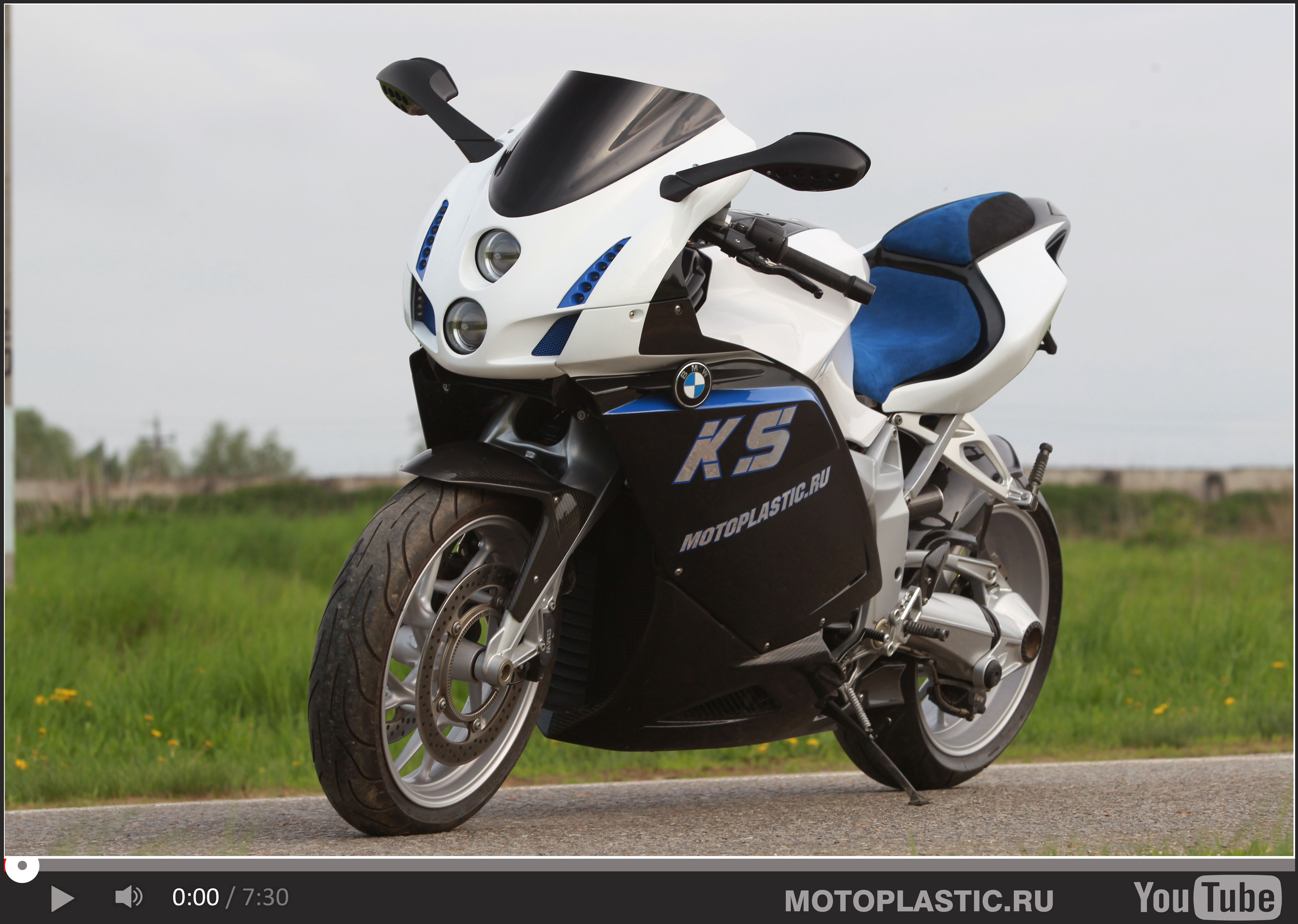 bmw k 1300 s , tuning , custom front fairing and tail | bmw k 1200