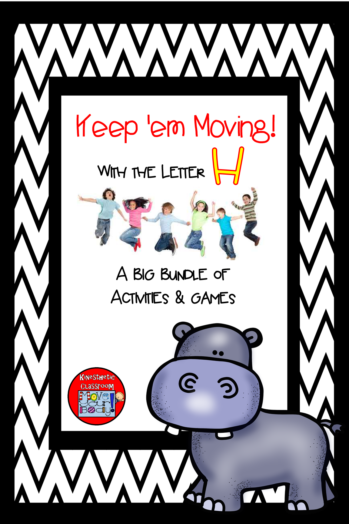 A Letter Of The Week Bundle That Includes Movement With