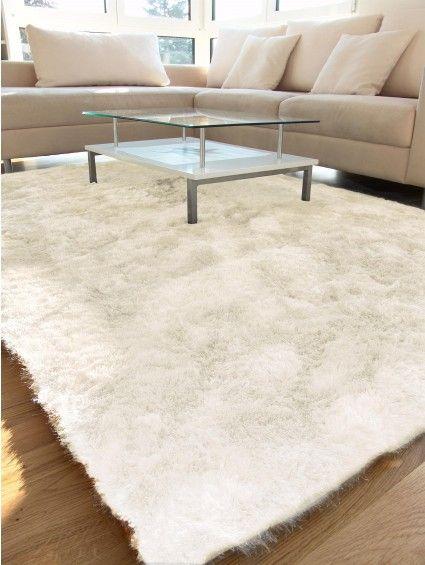 shaggy whisper rug white tapis salon