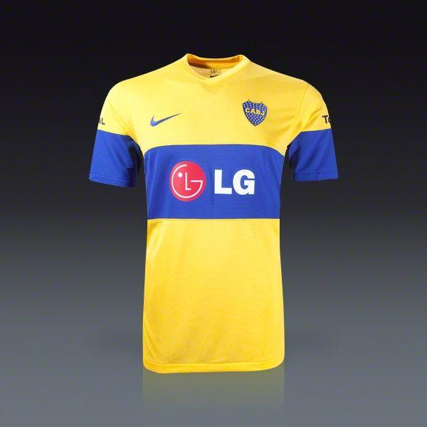 71d59e31e9d Nike Boca Juniors Away Jersey 11 12