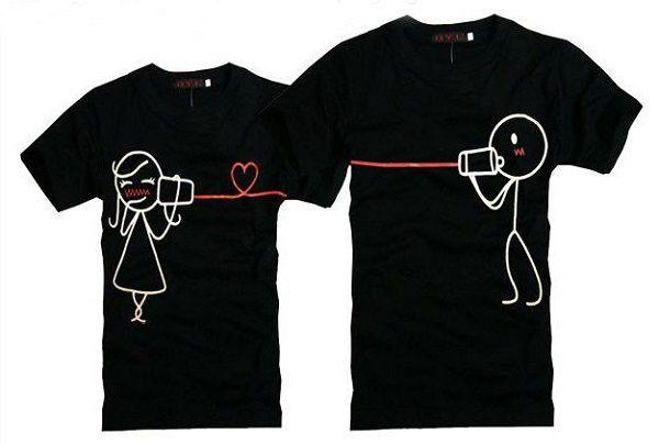 b092338a84e camisetas creativas para parejas 6 | Proyectos que intentar ...