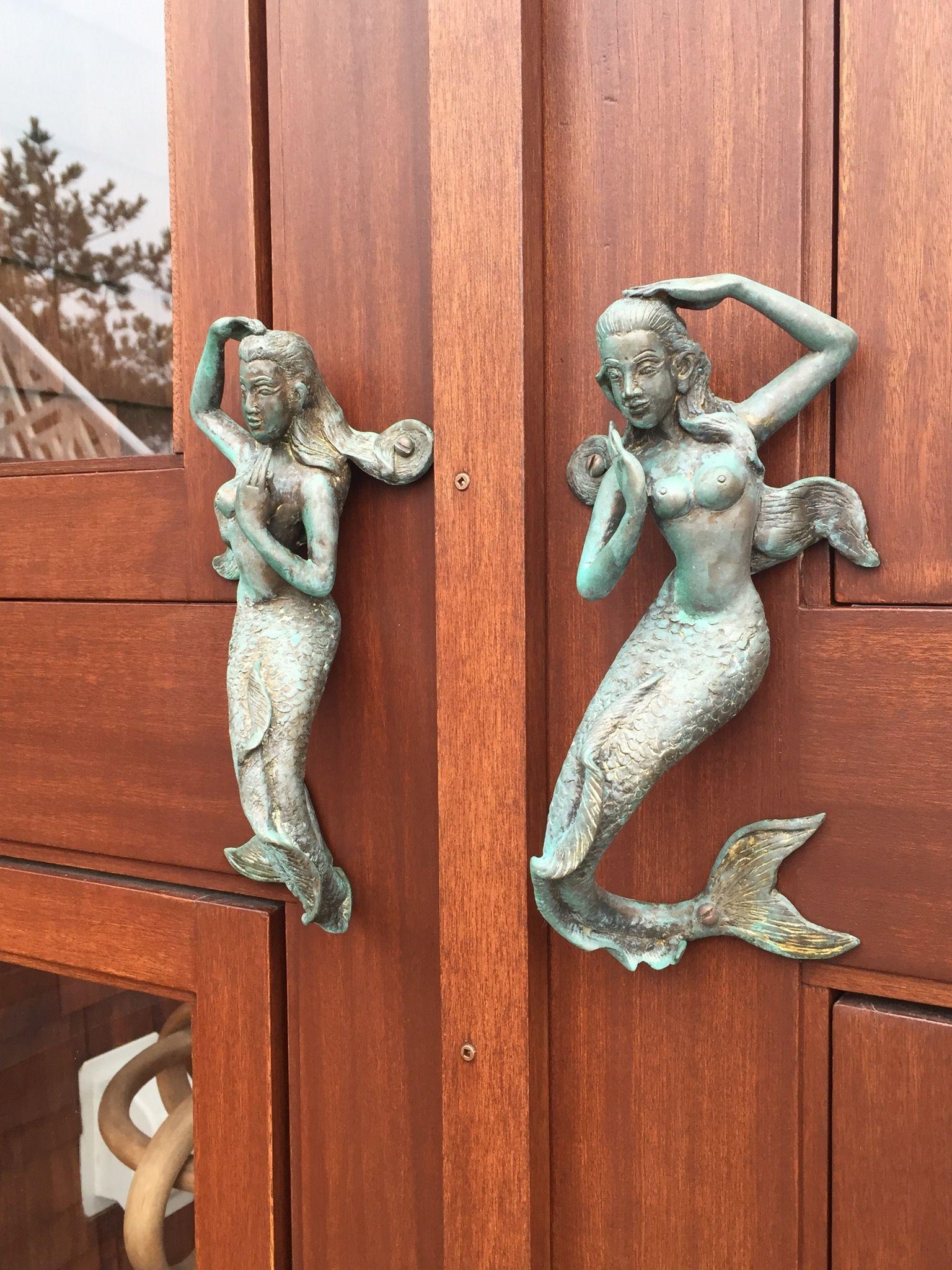 Mermaid Door Handles Door Handles Real Mermaids Doors