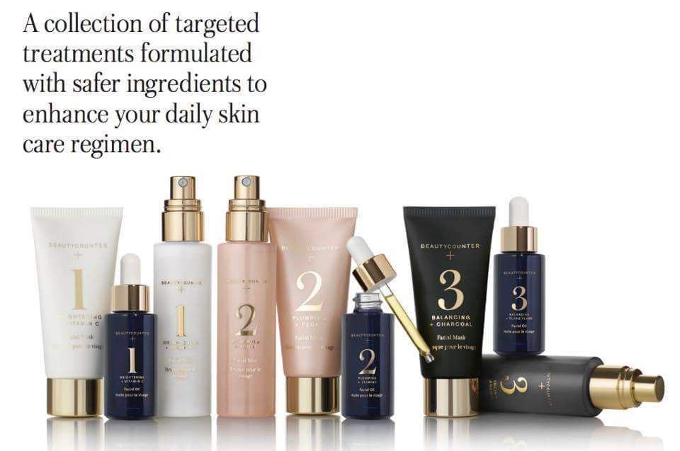 Beautycounter+ launched March 7th. Available in three collections. Can be purchased as sets or individually. Smaller Spa sets also available! Shop now! www.beautycounter.com/melissagaidosh