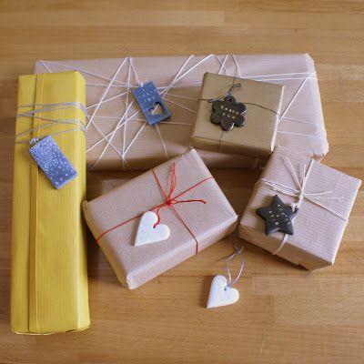 Poppytalk: Artmind Tutorial No. 1 - Polymer gift tags
