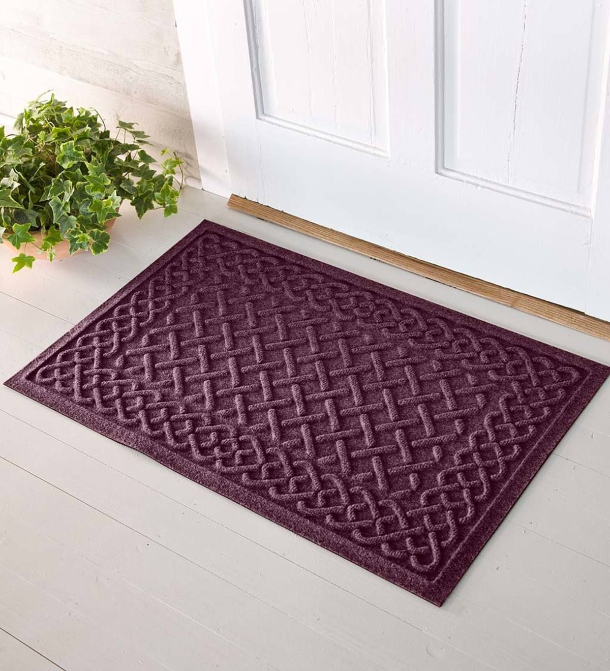 Love This Color Waterhog Mats Now Feature A Super Durable Pet Fabric Face Made From 100 Recycled Post Consumer Waterhog Mat Decks And Porches Floor Molding