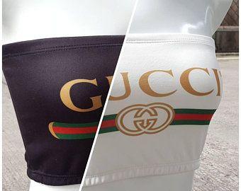 7bdbc087ea1 REWORKED Gucci Tube Top