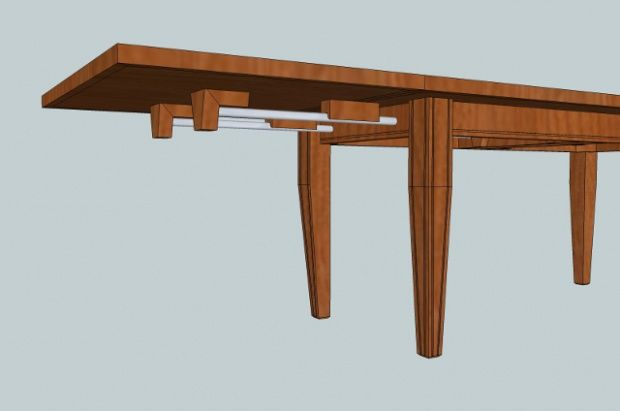 woodwork diy extendable dining table plans pdf plans | tables