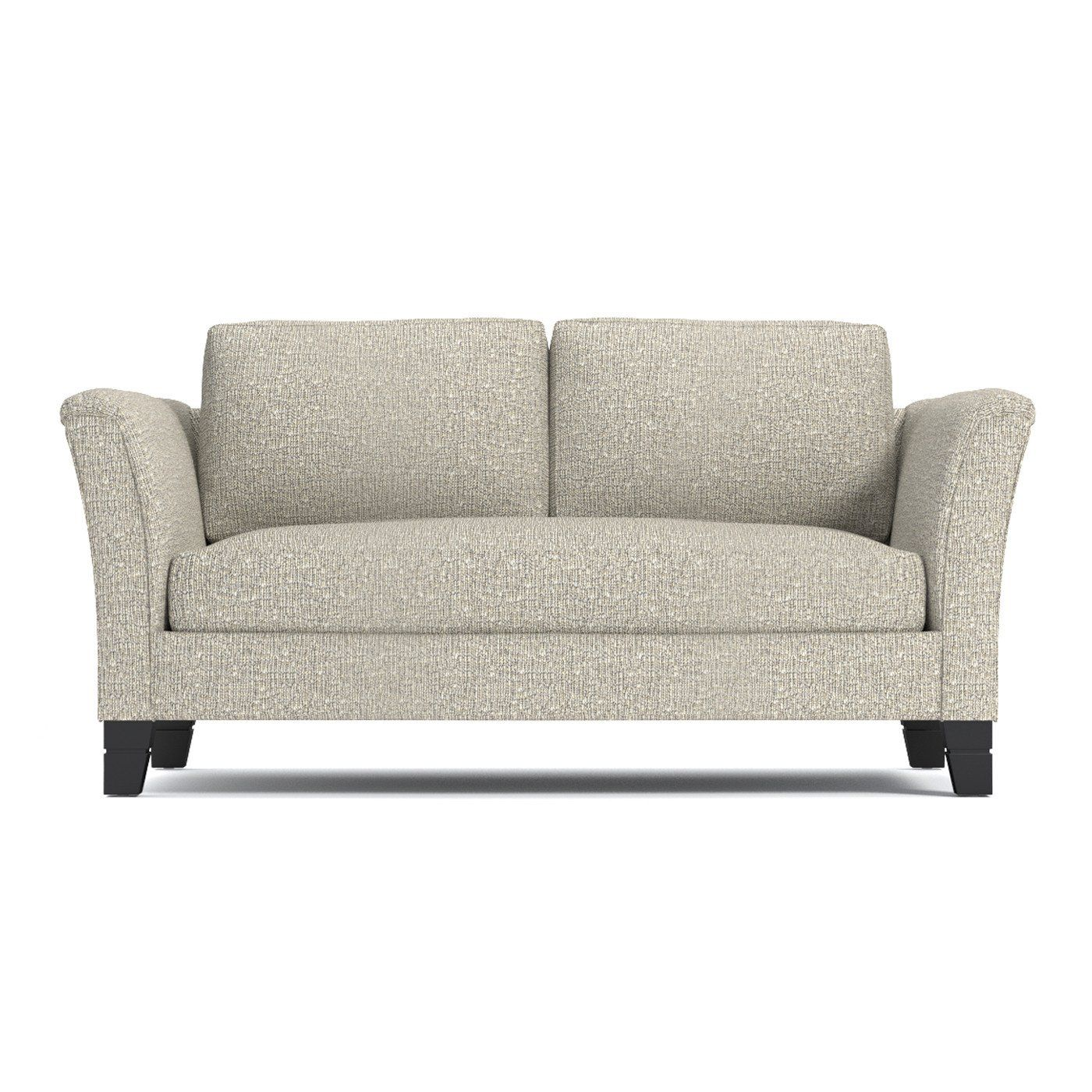 Desoto Apartment Size Sofa Leg Finish Pecan Size Apartment
