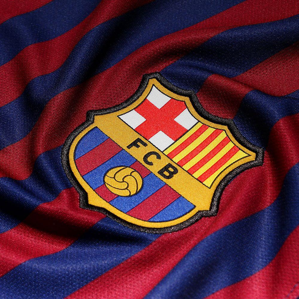 Camiseta oficial del FC Barcelona 2018-2019. Equipaciones de jugador o  portero de esta temporada. Personalizar camisetas y pantalones del Barcelona . d343e1e88ee