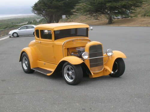 Ford Window Coupe On Cars Ford Full Fendered Hot
