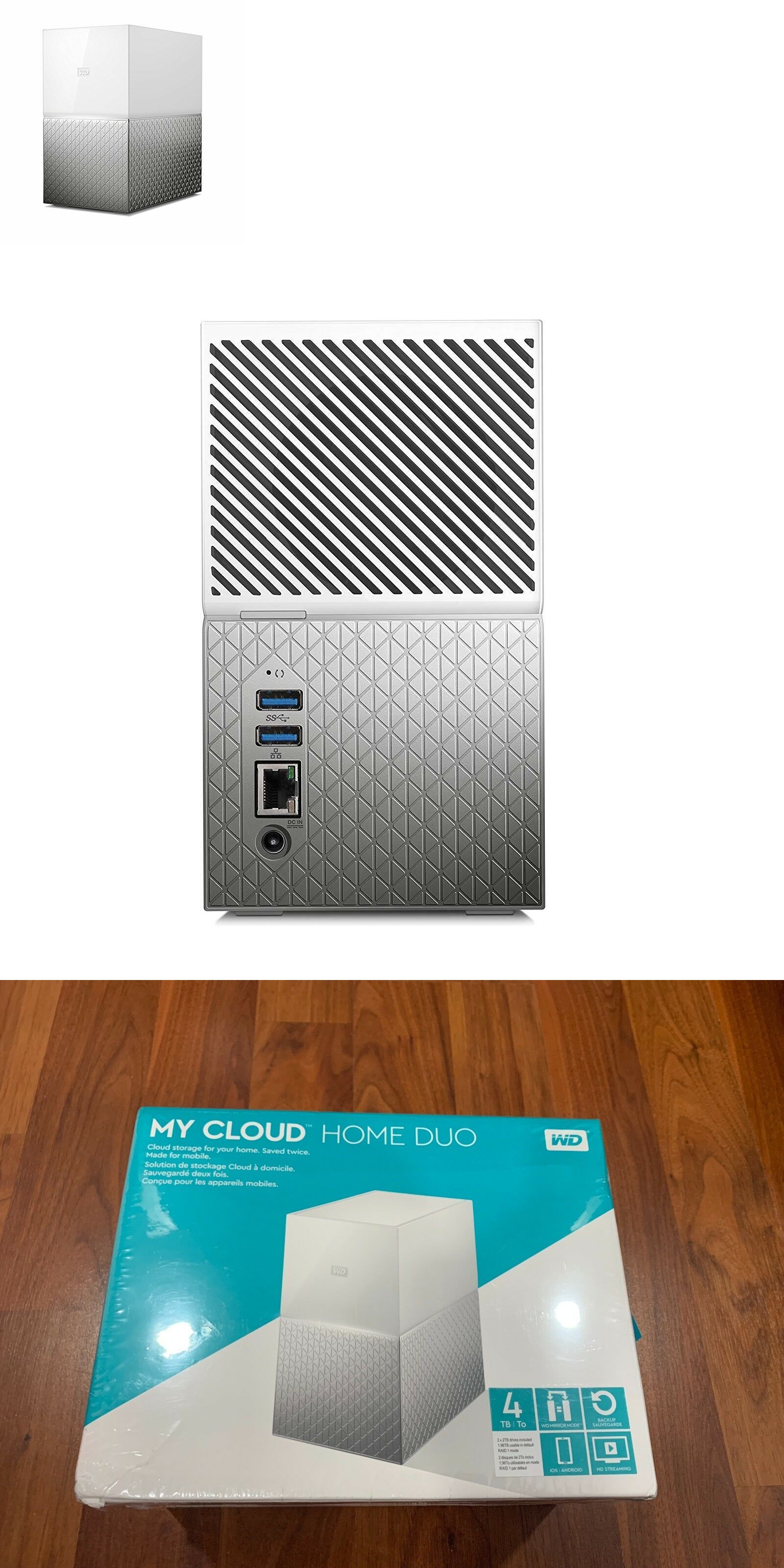 Network Attached Storage 106273: Wd 4Tb My Cloud Home Duo