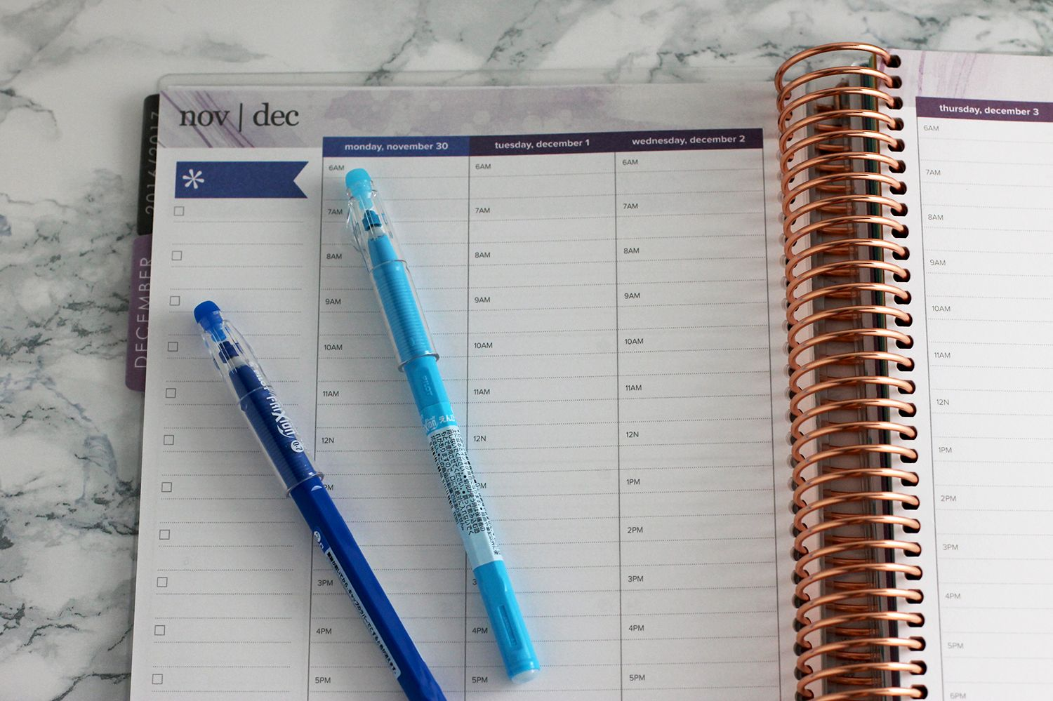 Erin Condren Hourly Schedule Book | Stylish plus, Erin condren and ...