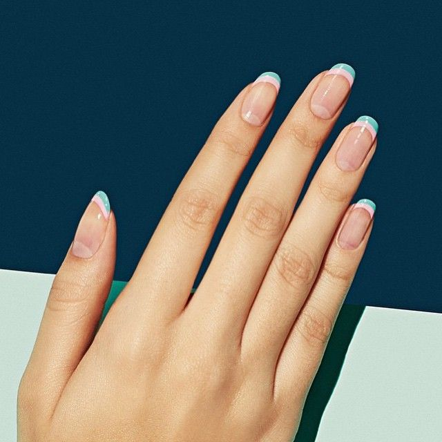 This clean mani from @paintboxnails has us ready for spring! #Kinespirit #pilates #nyc