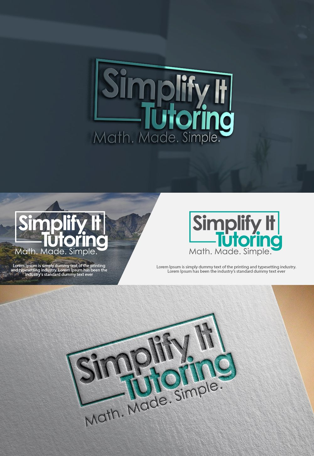 Private tutor needs clean logo Upmarket, Serious Logo Design by mibrahim41504048