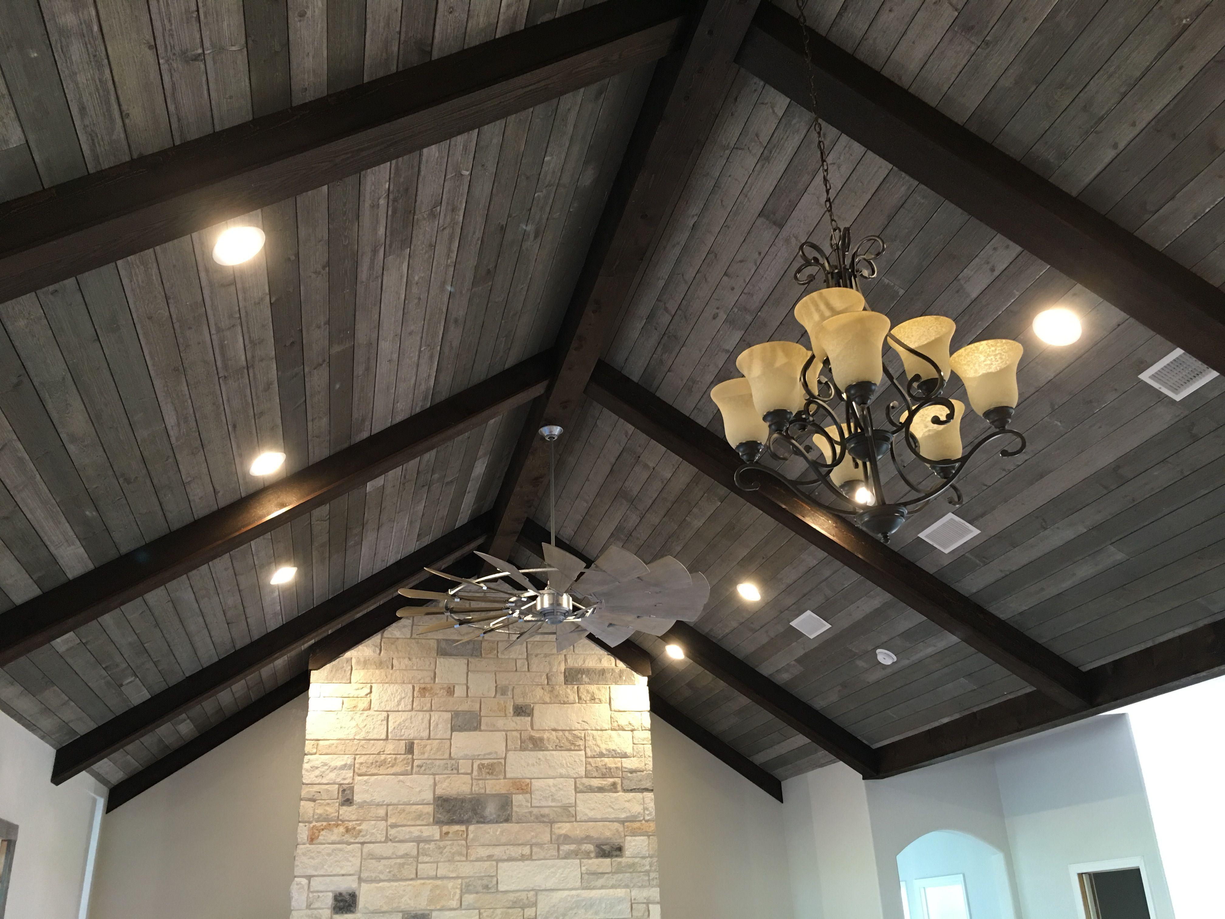 Windmill ceiling fan Chisholm Trail Custom Homes