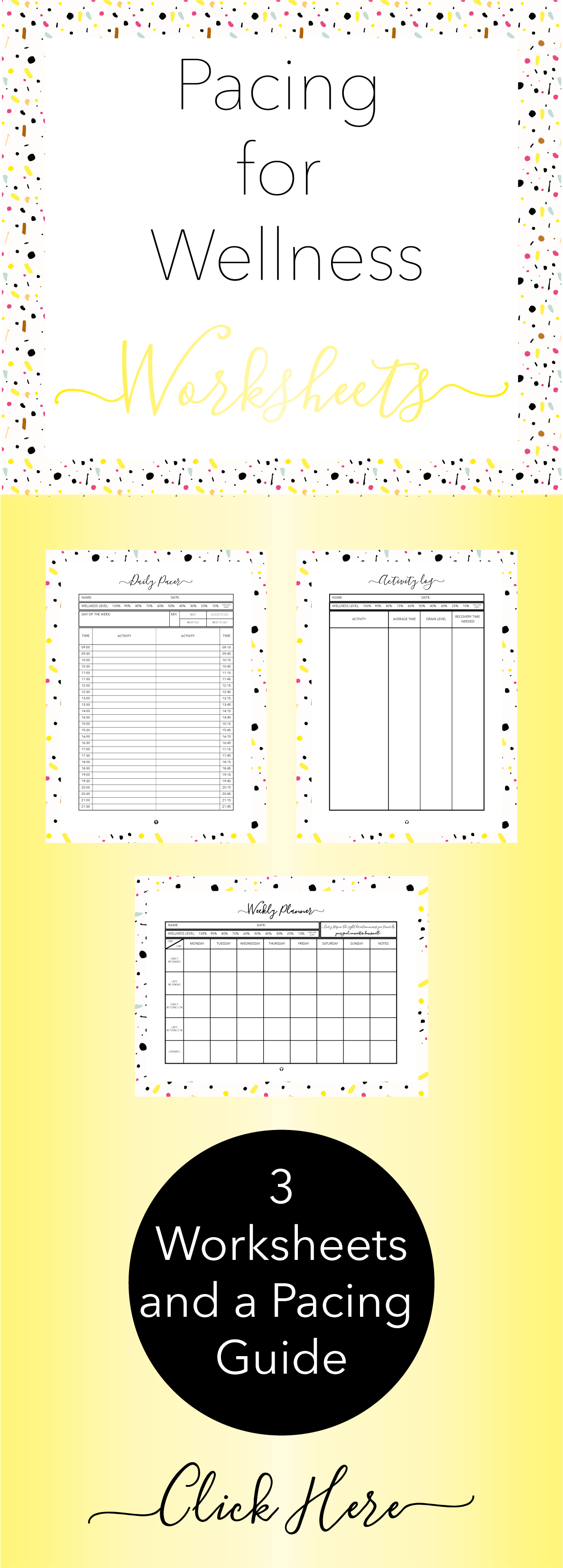 Pace Your Way Back To Wellness With These Printable