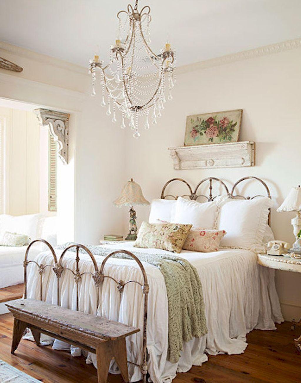 Romantic Shabby Chic Bedroom Decorating Ideas (41) #RomanticBedrooms