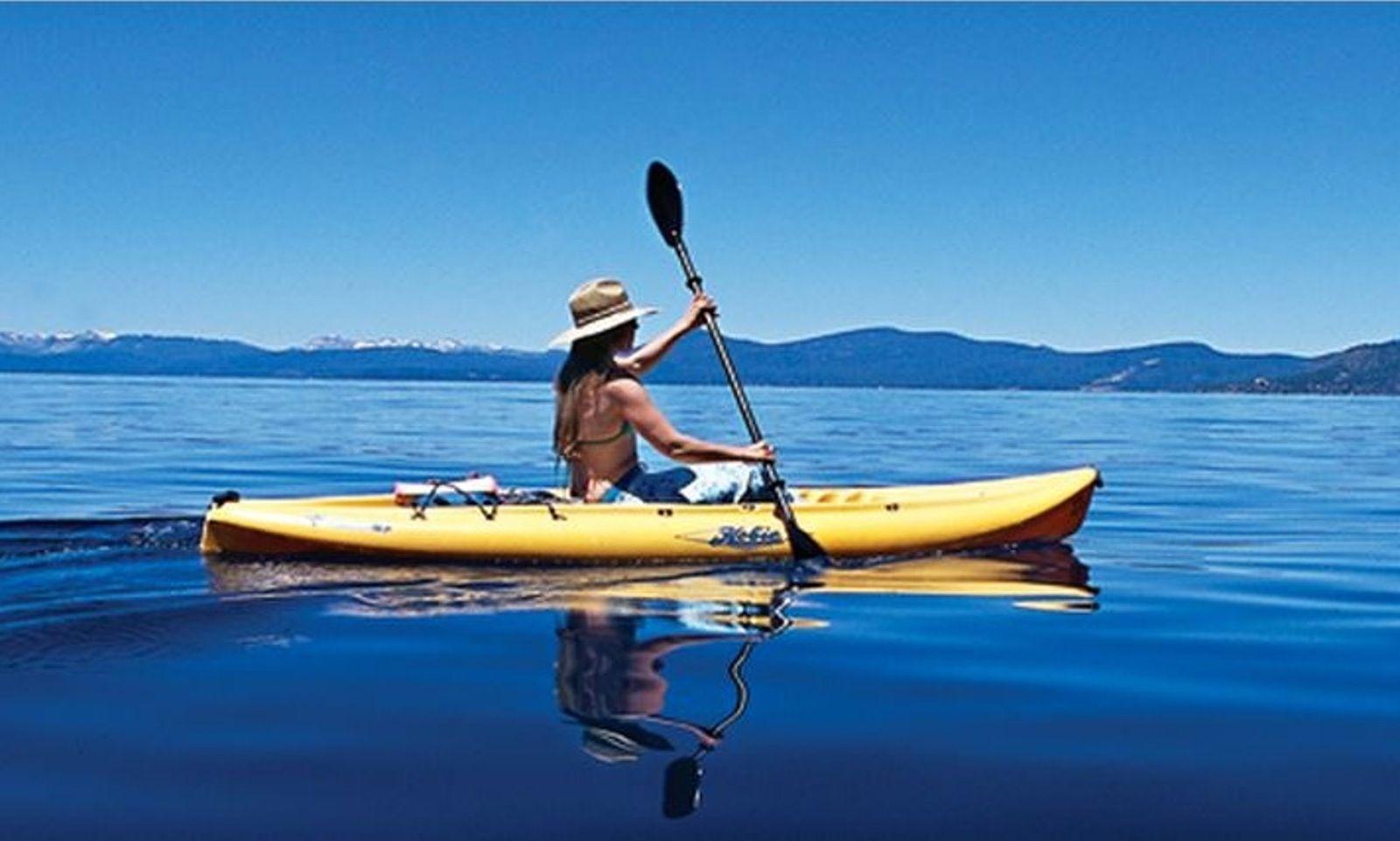 Single person kayak rental in south lake tahoe getmyboat