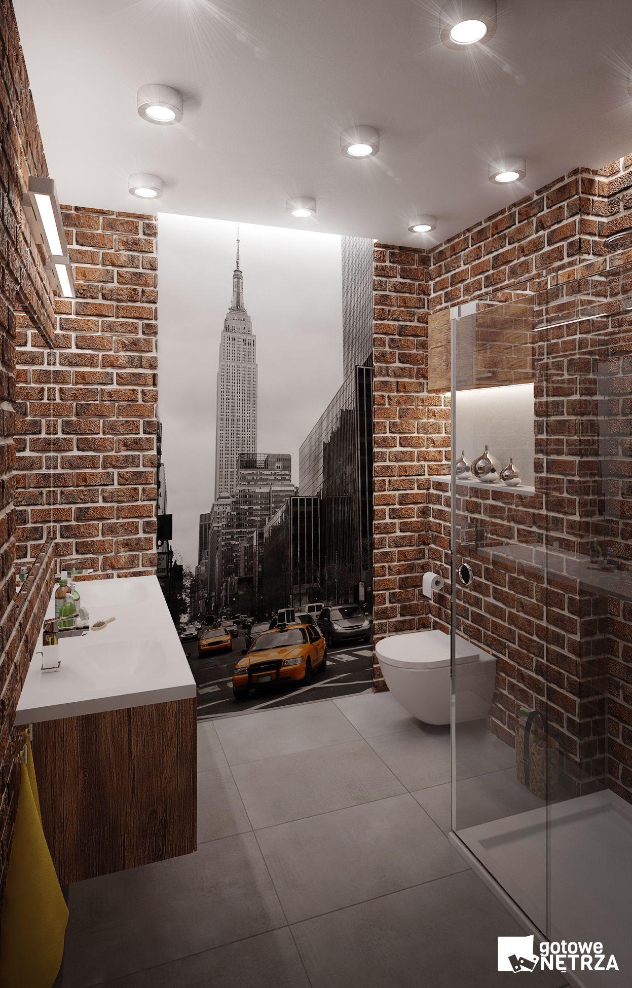 łazienka New York 5 M2 W Stylu Loft W Naszym Sklepie