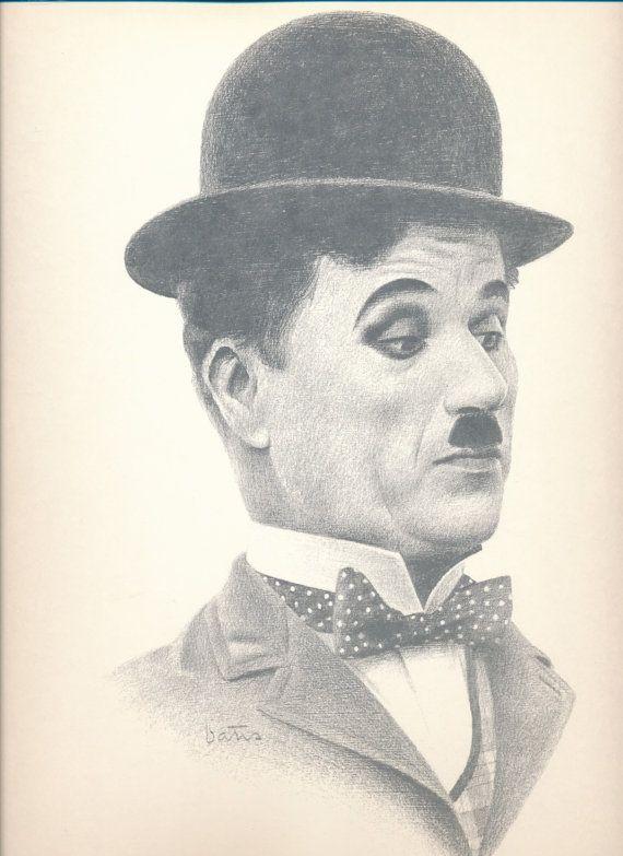 Bill Bates Print | Charlie Chaplin | Comedy Legend ...