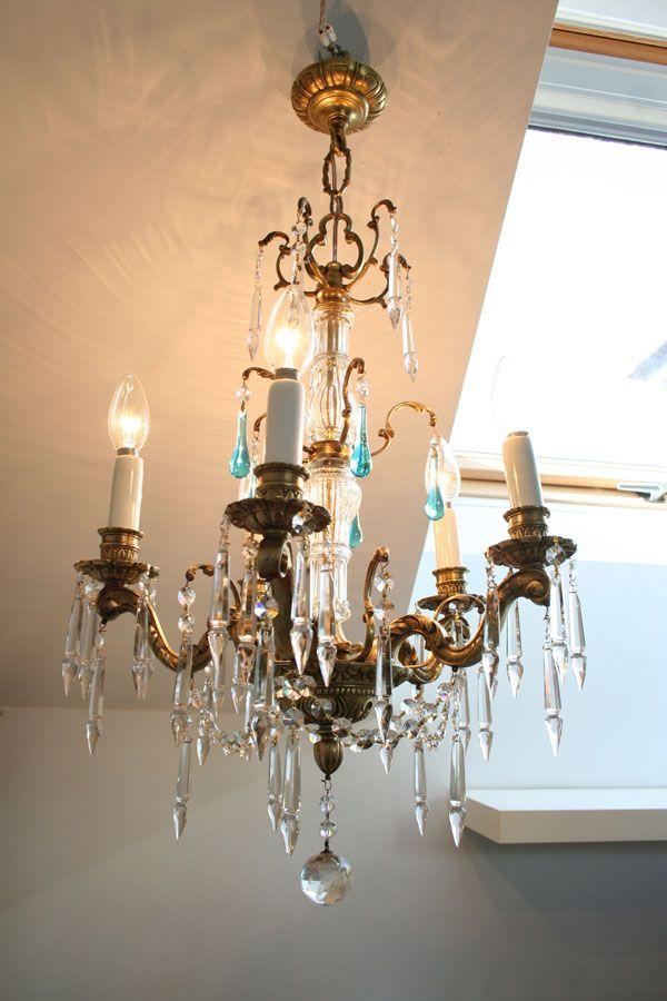 techoLampara chandelierArañas antigua vintage de araña LqVGzjpUMS
