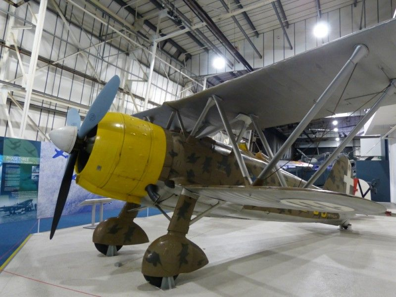 Fiat Gr42 - RAF Museum Londra