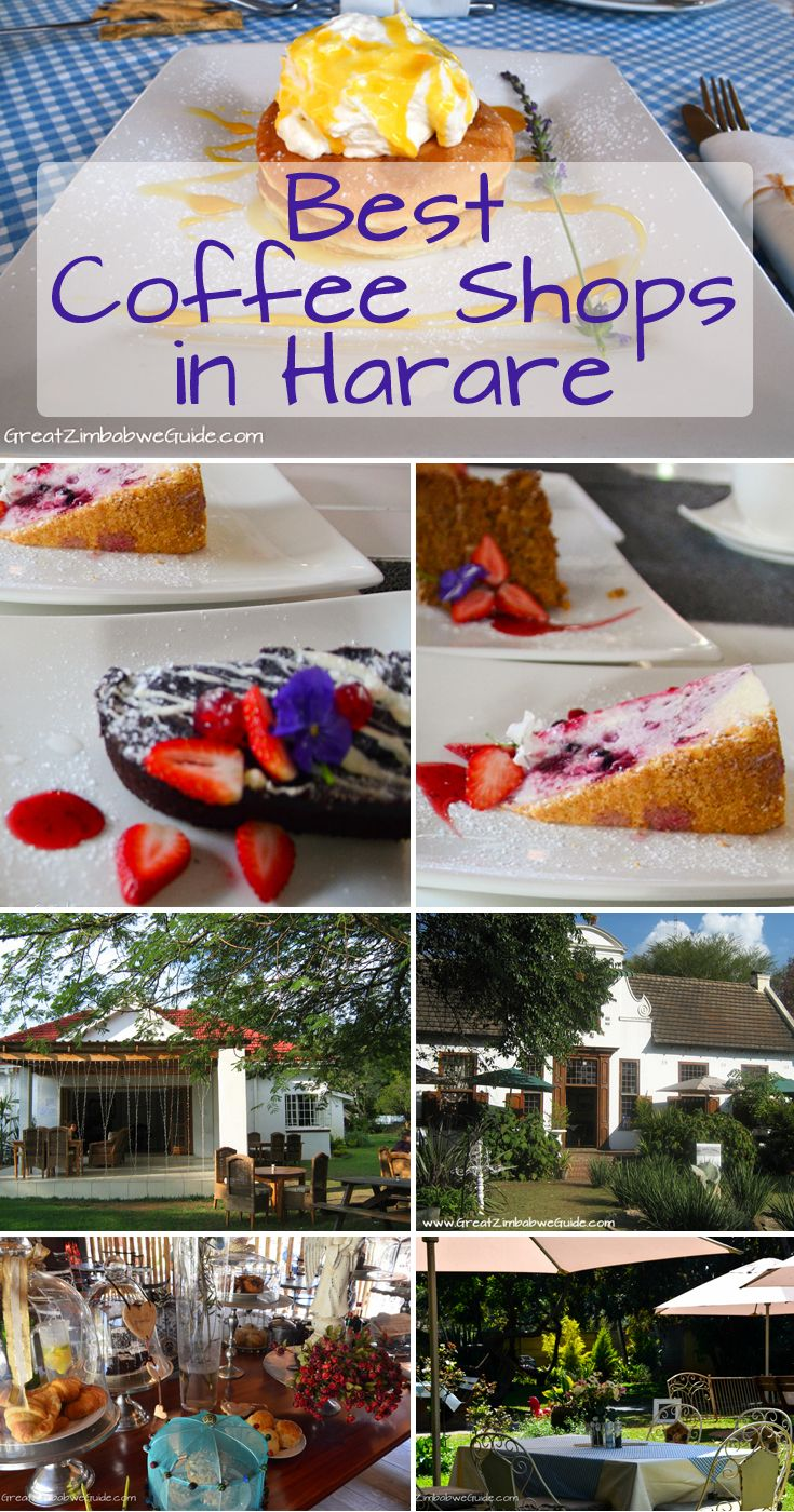 Great Zimbabwe Guide Harare coffee shops