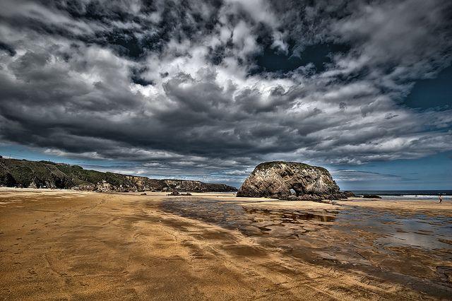 Playa de Peñarronda (Castropol)