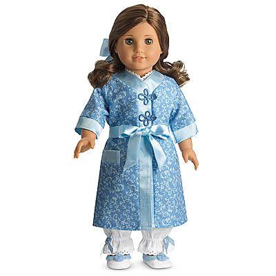 American Girl® Clothing: Rebecca's Robe & Slippers