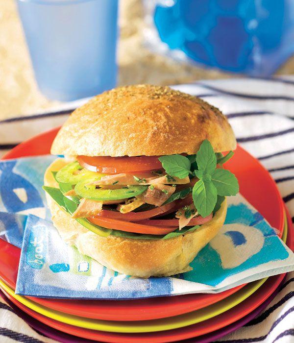 Receta para preparar una deliciosa y ligera mini hamburguesa