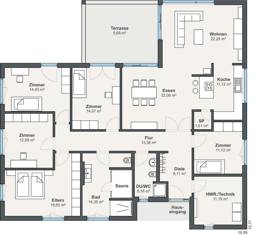 Photo of Individually planned bungalow