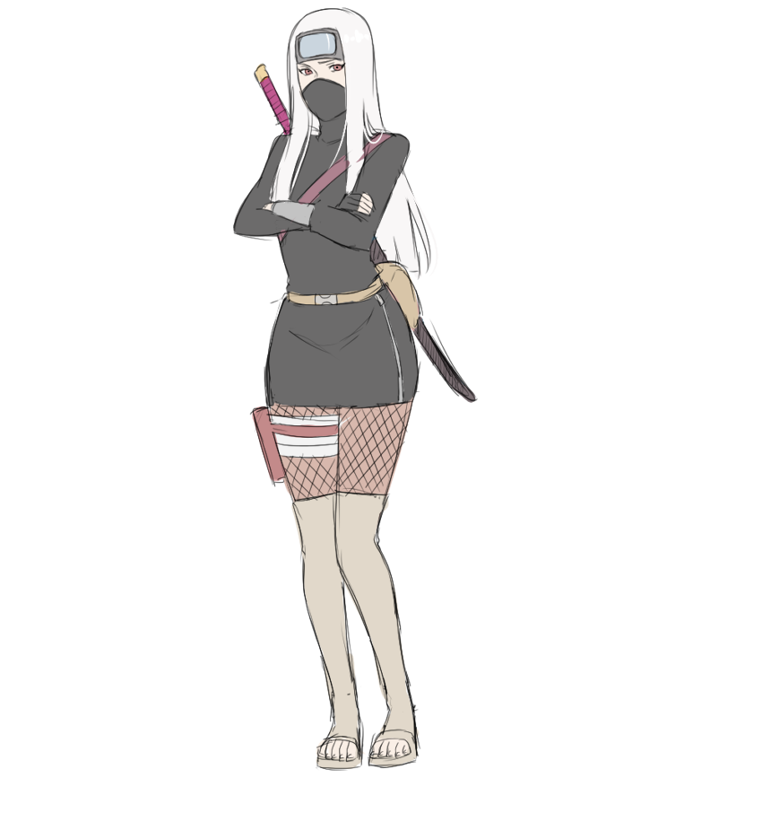 Female Naruto Adoptable 3 SOLD by BayneezOne on