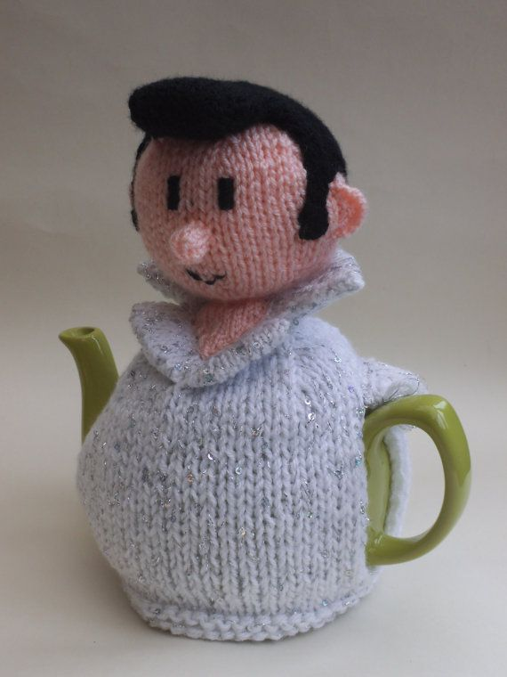 Elvis Presley Tea Cosy Knitting Pattern to Knit Your Own Elvis Cosy ...
