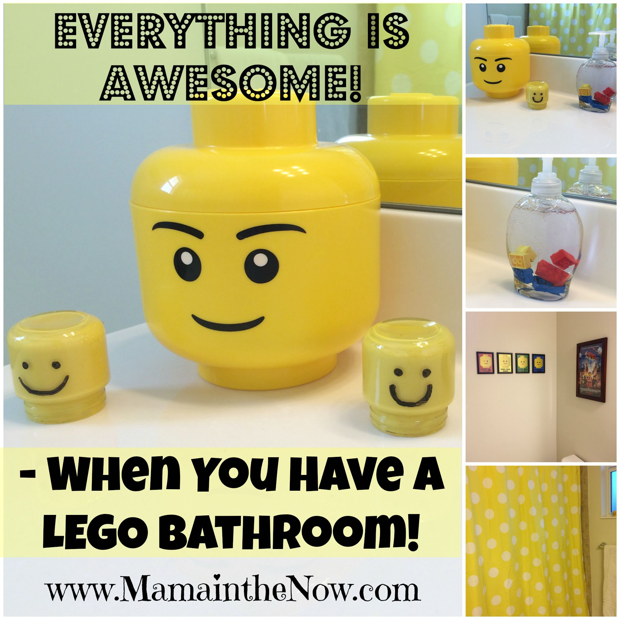 Attirant Everything Is Awesome When You Have A LEGO Bathroom