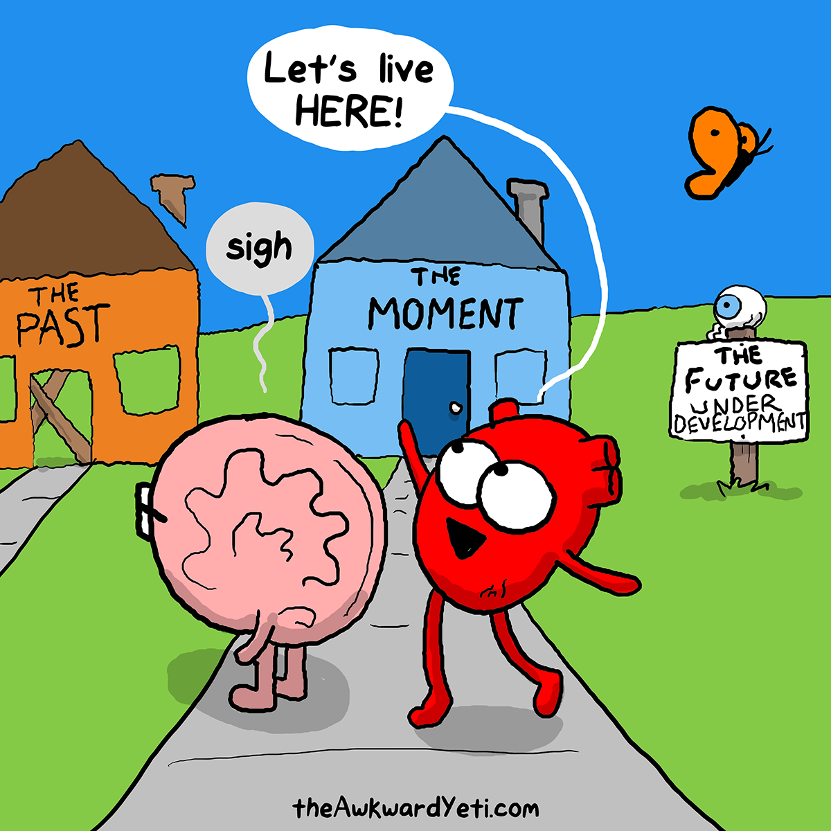 The Awkward Yeti | #Heart and Brain #Living in time ...