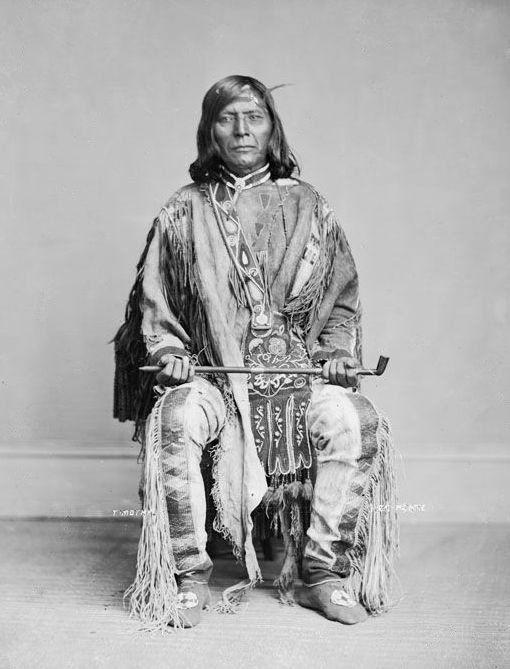 American Indians : Ta-mas-on - Nez Perce 1868.