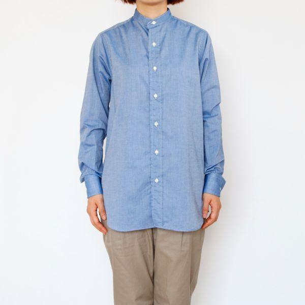Chambray/Blue 着用イメージ(モデル身長:163cm)