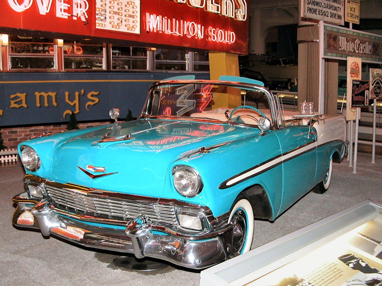 1956 Chevrolet Bel Air Convertible Chevrolet Bel Air Chevrolet