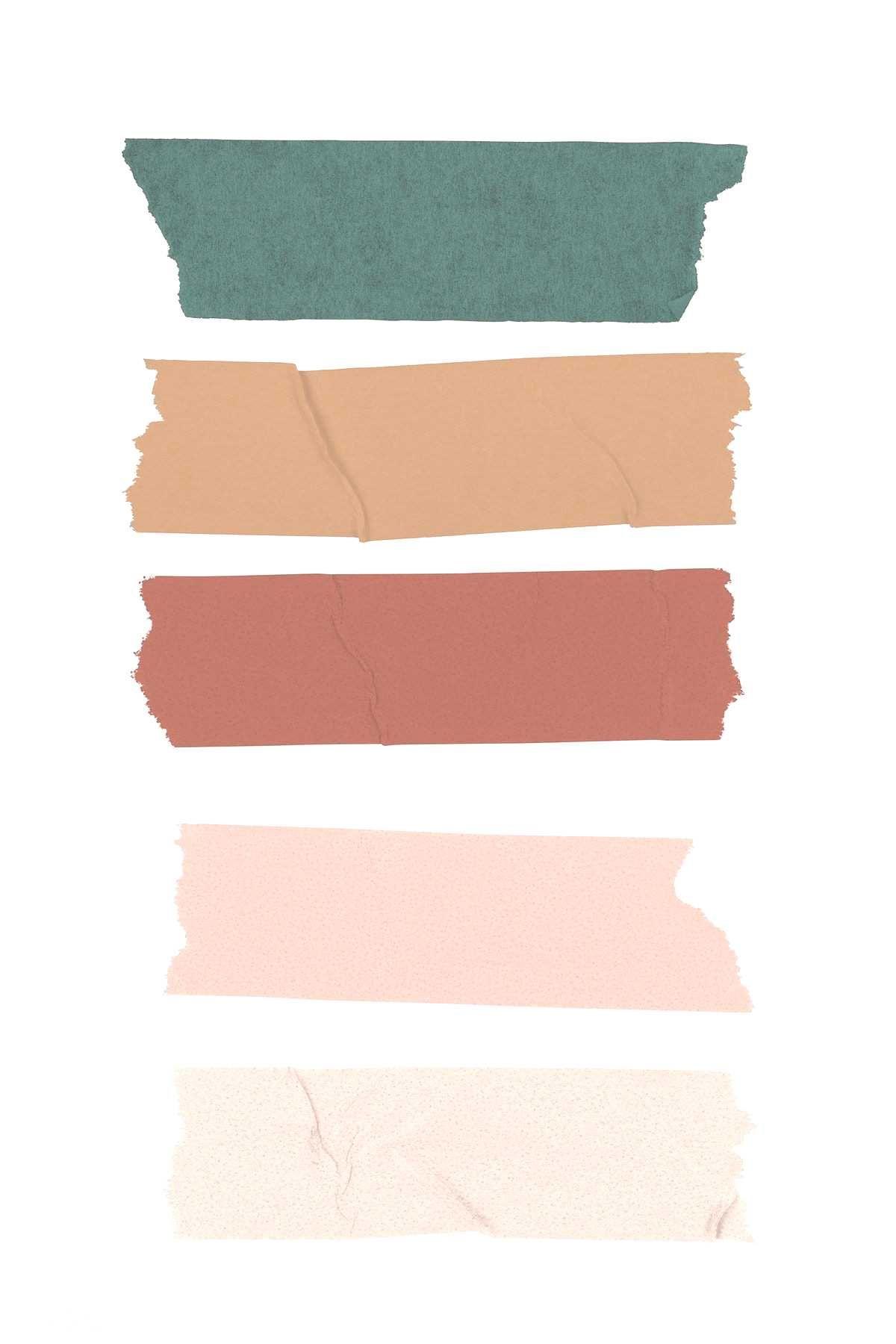 Hwangmangjoo Rawpixelcom Collection Colorful Premium Design Washi Image Tape By Colorful Washi Tape Design Colle Colorful Washi Tape Washi Tape Washi