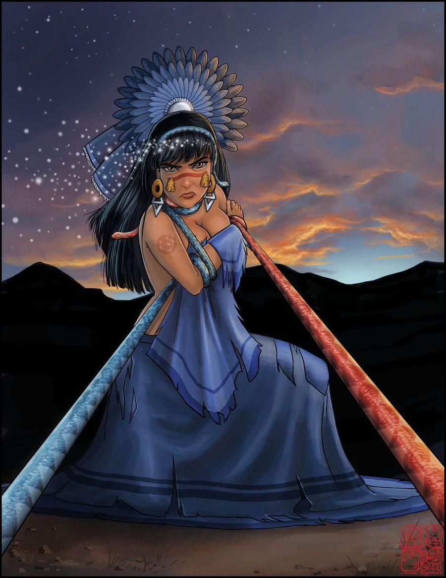 coyolxauhqui aztecs mayan inca south american deities