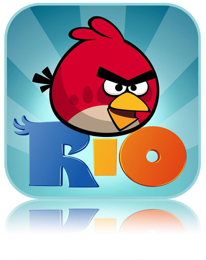 Angry Birds Rio App Icon Angry Birds Favorite Apps App Of The Day